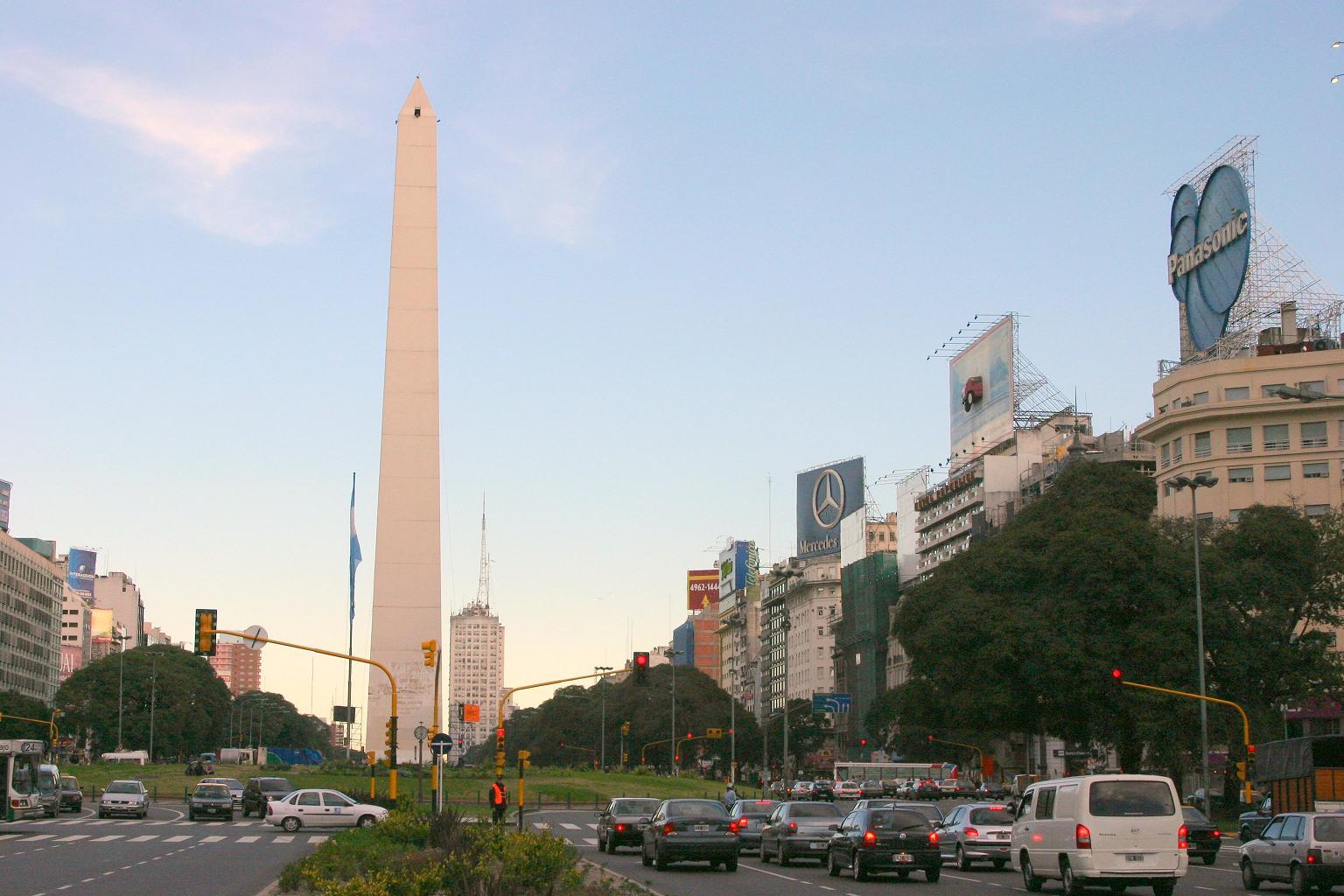 As mais belas cidades buenos aires for Obelisco buenos aires