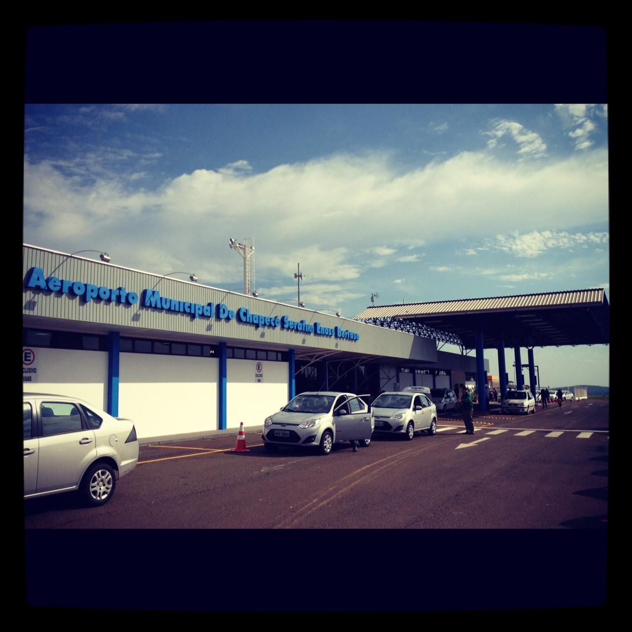 Aeroporto Em Sc : Contando as horas arquivos aeroporto de chapecó sc