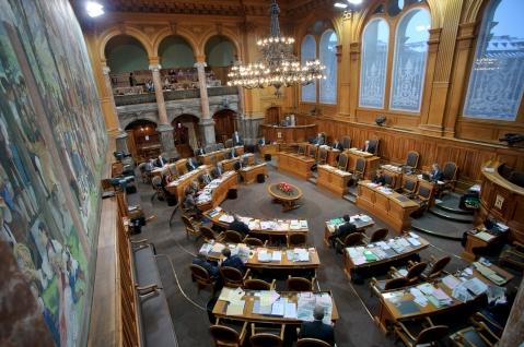 National Council - Foto retirada do site Schweizer Parlament