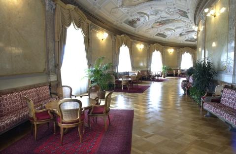 Lobby Hall - Foto retirada do site Schweizer Parlament