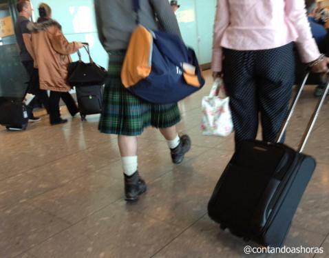 Até no aeroporto..