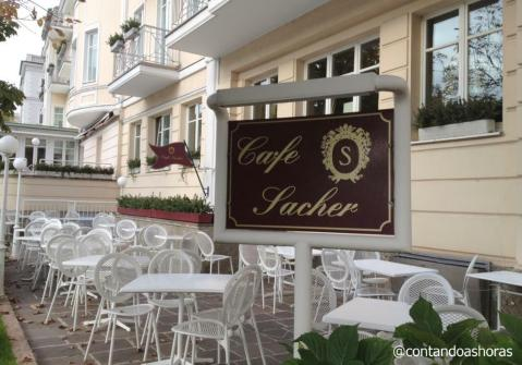 Café Sacher de Salzburgo
