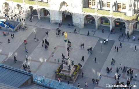 Marienplatz vista do alto